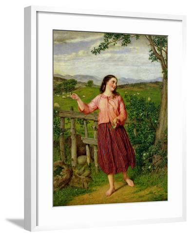 Highland Mary-William Gale-Framed Art Print