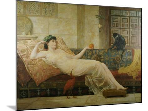 A Dream of Paradise, 1889-Frederick Goodall-Mounted Giclee Print