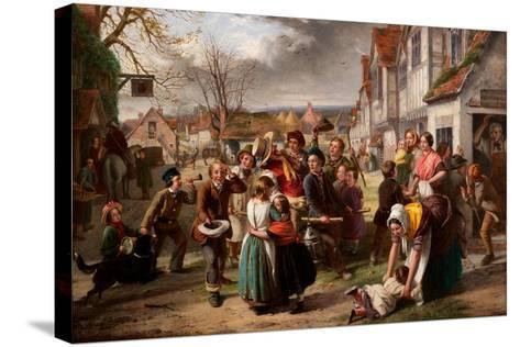Guy Fawkes Day, 'Please to Remember' Etc-Thomas Brooks-Stretched Canvas Print