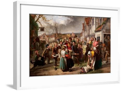 Guy Fawkes Day, 'Please to Remember' Etc-Thomas Brooks-Framed Art Print