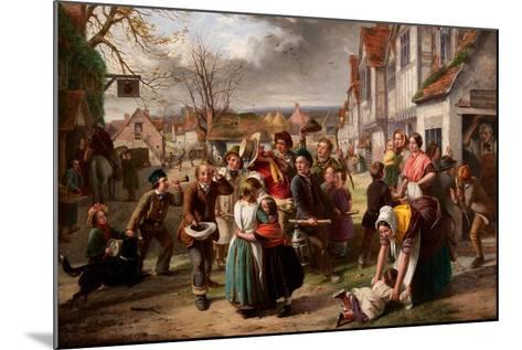 Guy Fawkes Day, 'Please to Remember' Etc-Thomas Brooks-Mounted Giclee Print