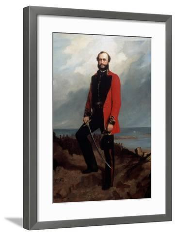 Major-General Charles Ashe Windham (1810-70) Coldstream Guards-Charles Couzens-Framed Art Print