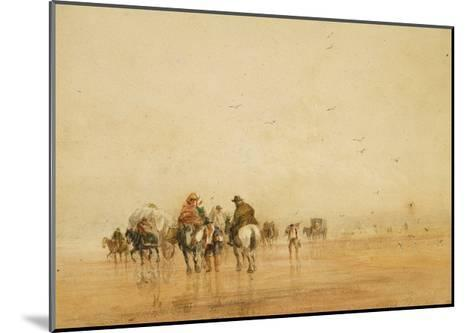Crossing Lancaster Sands, 1836-David Cox-Mounted Giclee Print