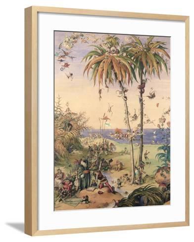 The Enchanted Tree, a Fantasy Based on 'The Tempest', 1845-Richard Doyle-Framed Art Print