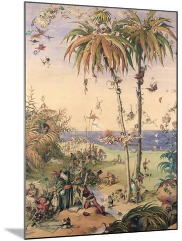 The Enchanted Tree, a Fantasy Based on 'The Tempest', 1845-Richard Doyle-Mounted Giclee Print