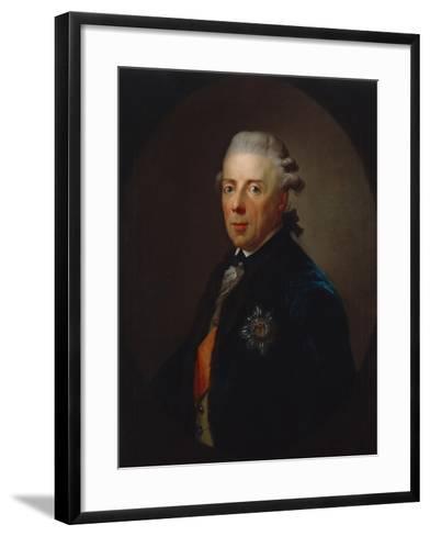 Portrait of Prince Heinrich of Prussia, after 1785-Anton Graff-Framed Art Print