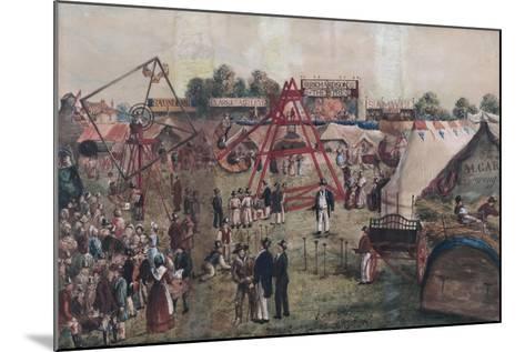 Croydon Fair, 1833-George Hawkins-Mounted Giclee Print