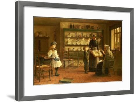 Gone But Not Forgotten-James Hayllar-Framed Art Print