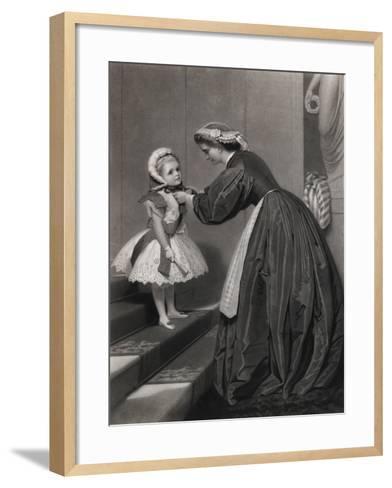 Going to the Ball-James Hayllar-Framed Art Print