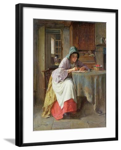 Katie's Letter-Haynes King-Framed Art Print