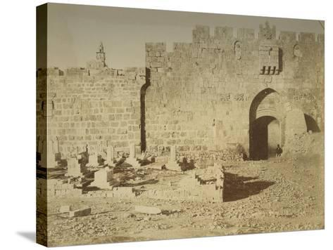 St. Stephen's Gate, 1856-Mendel John Diness-Stretched Canvas Print
