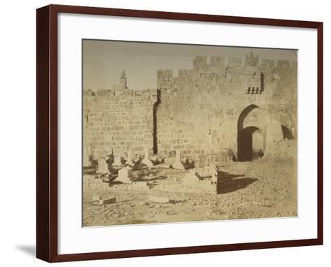 St. Stephen's Gate, 1856-Mendel John Diness-Framed Art Print