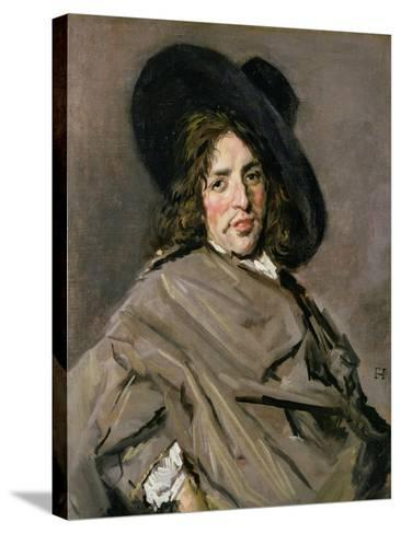 Portrait of an Unknown Man, 1660-63-Frans Hals-Stretched Canvas Print