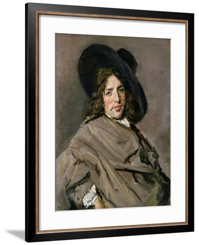 Portrait of an Unknown Man, 1660-63-Frans Hals-Framed Art Print