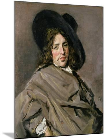 Portrait of an Unknown Man, 1660-63-Frans Hals-Mounted Giclee Print