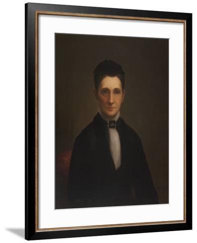 Mrs. Benjamin Davis Wilson, 1881-William Cogswell-Framed Art Print