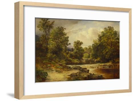 Langdale Pikes, Westmorland-George Vicat Cole-Framed Art Print