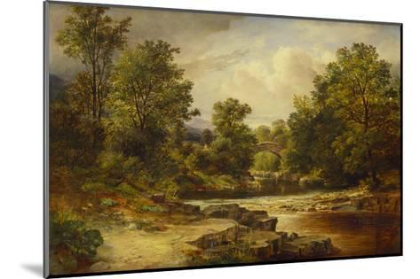 Langdale Pikes, Westmorland-George Vicat Cole-Mounted Giclee Print