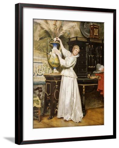 The Secret Postbox, 1876-Tito Conti-Framed Art Print