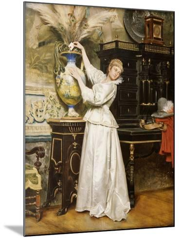 The Secret Postbox, 1876-Tito Conti-Mounted Giclee Print