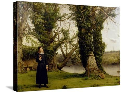 George Herbert (1593-1633) at Bemerton, 1860-William Dyce-Stretched Canvas Print