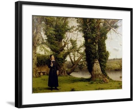 George Herbert (1593-1633) at Bemerton, 1860-William Dyce-Framed Art Print