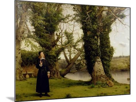 George Herbert (1593-1633) at Bemerton, 1860-William Dyce-Mounted Giclee Print