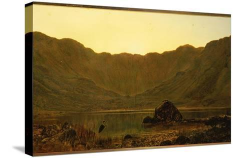 Mountain Solitude, 1885-John Atkinson Grimshaw-Stretched Canvas Print