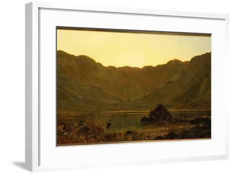 Mountain Solitude, 1885-John Atkinson Grimshaw-Framed Art Print