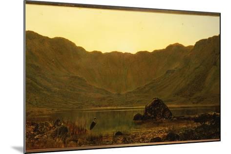 Mountain Solitude, 1885-John Atkinson Grimshaw-Mounted Giclee Print