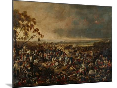After the Battle of Waterloo, on 18 June 1815, 1820-William Heath-Mounted Giclee Print