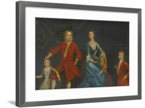 Group Portrait of the Arundell Family of Wardour--Framed Art Print