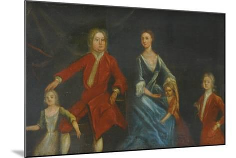 Group Portrait of the Arundell Family of Wardour--Mounted Giclee Print