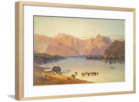 A View of Windermere-Aaron Edwin Penley-Framed Art Print