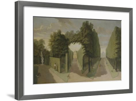 View of the Bagnio and Comed Building Alleys, Chiswick Villa-Pieter Andreas Rysbrack-Framed Art Print