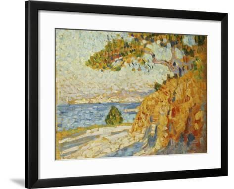 Countryside at Noon, 1895-Theo van Rysselberghe-Framed Art Print