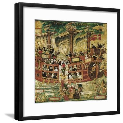 Typus Religionis, Allegory of the Society of Jesus--Framed Art Print
