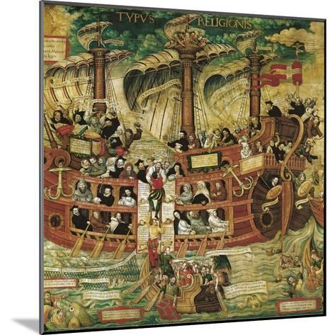Typus Religionis, Allegory of the Society of Jesus--Mounted Giclee Print