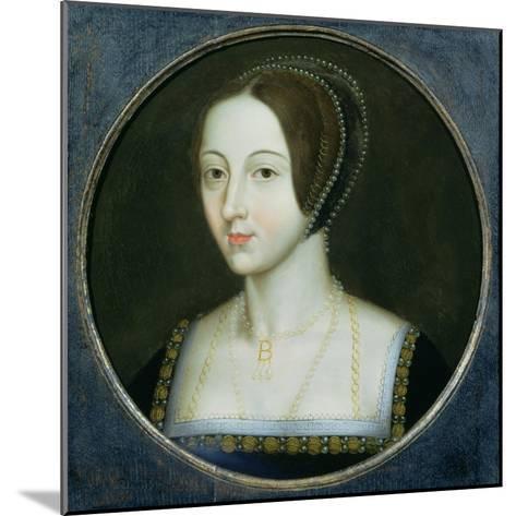 Portrait of Anne Boleyn (C.1507-36), C.1600--Mounted Giclee Print