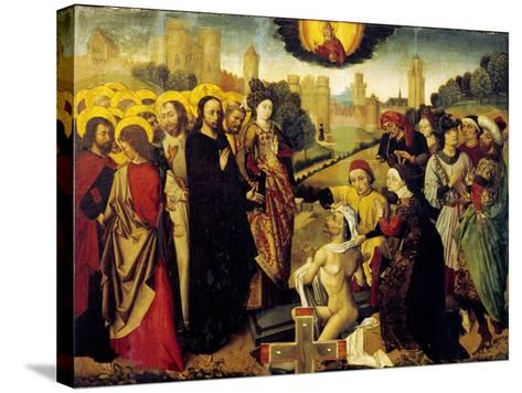 Christ's Miracles--Stretched Canvas Print