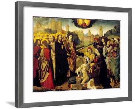 Christ's Miracles--Framed Art Print