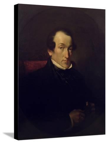 Dr. Frederick Septimus Leighton (1800-92), C.1850-Frederic Leighton-Stretched Canvas Print