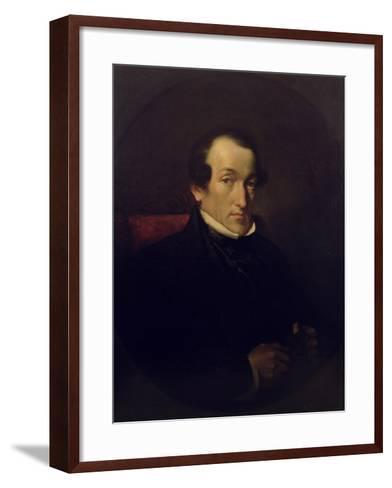 Dr. Frederick Septimus Leighton (1800-92), C.1850-Frederic Leighton-Framed Art Print