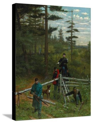 Union Vanguard, 1889-Julian Scott-Stretched Canvas Print
