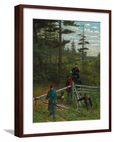 Union Vanguard, 1889-Julian Scott-Framed Art Print