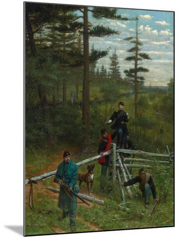 Union Vanguard, 1889-Julian Scott-Mounted Giclee Print