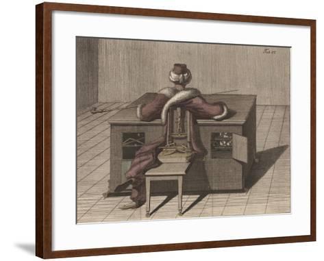 Plate VI, from 'Uber Den Schachspieler Des Herrn Von Kempelen Und Dessen Nachbildung'--Framed Art Print