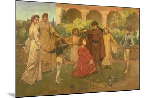 The Childhood of Dante-Jessie Macgregor-Mounted Giclee Print