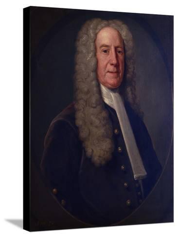 Benjamin Lynde, Sr., 1731-John Smibert-Stretched Canvas Print