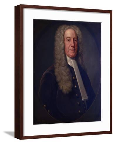Benjamin Lynde, Sr., 1731-John Smibert-Framed Art Print